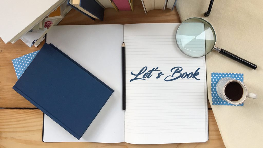 Un libro tutto da scrivere: quadernone Let's Book appoggiato su scrivania