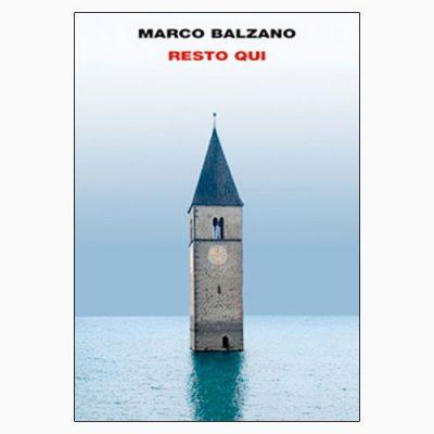 """La copertina del libro """"Io resto qui"""" di Marco Balzano, pubblicato da Einaudi"""