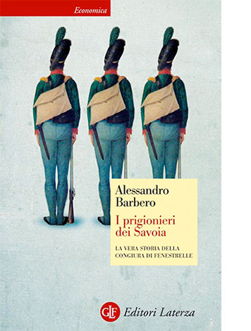"""La copertina de """"I prigionieri dei Savoia"""" di Alessandro Berbero (Editori Laterza)"""