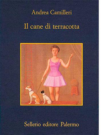 """La copertina de """"Il cane di terracotta"""" di Andrea Camilleri (Sellerio)"""