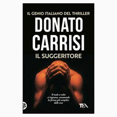 """La copertina de """"Il suggeritore"""", libro di Donato Carrisi pubblicato da Tea"""