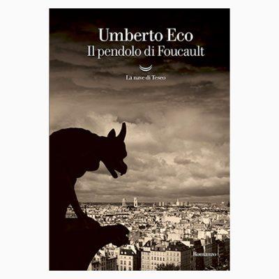 """La copertina de """"Il pendolo di Foucault"""", libro scritto da Umbero eco e pubblicato da La nave di Teseo"""