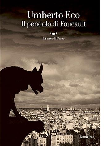 """La copertina de """"Il pendolo di Foucault"""" di Umberto Eco (La nave di Teseo)"""