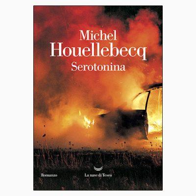 """La copertina di """"Serotonina"""", libro scritto da Michel Houellebecq e pubblicato da La nave di Teseo"""