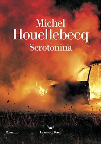 """La copertina di """"Serotonina"""" di Michel Houellebecq (La nave di Teseo)"""