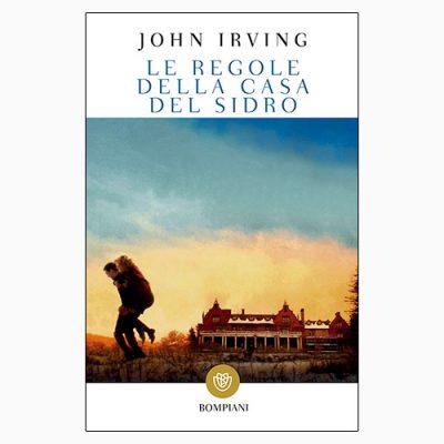 """La copertina delle """"Regole della casa del sidro"""" di John Irving, edito da Bompiani"""