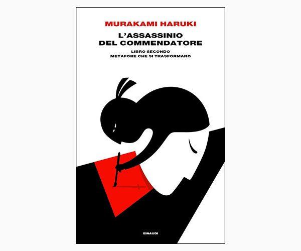 """La copertina de """"L'assassinio del commendatore"""", libro scritto da Murakami Haruki e pubblicato da Einaudi"""