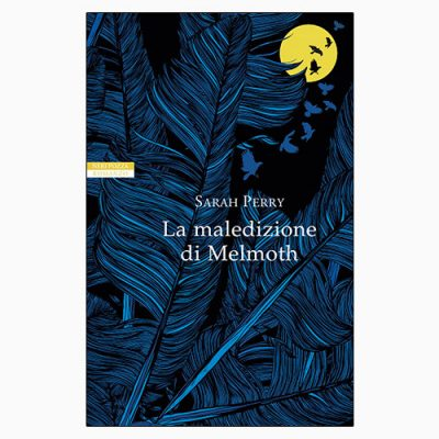 """La copertina de """"La maledizione di Melmoth"""", libro scritto da Sarah Perry e pubblicato da Neri Pozza"""