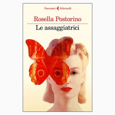"""La copertina de """"Le assaggiatrici"""", libro scritto da Rosella Postorino e pubblicato da Feltrinelli"""