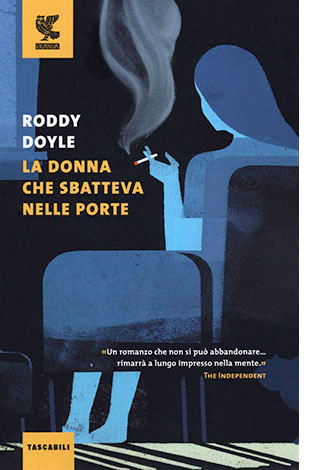 """La copertina de """"La donna che sbatteva nelle porte"""" di Roddy Doyle (Guanda)"""