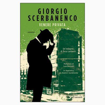 """La copertina di """"Venere privata"""", libro scritto da Giorgio Scerbanenco e pubblicato da Garzanti"""