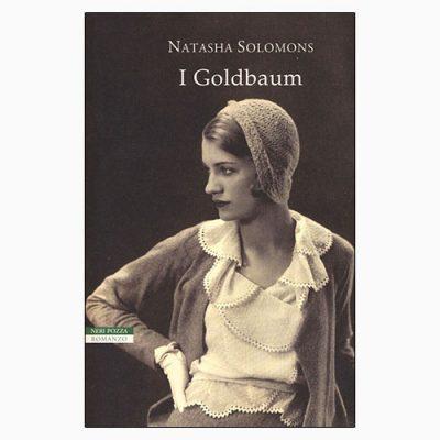 """La copertina de """"I Goldbaum"""", libro scritto da Natasha Solomons e pubblicato da Neri Pozza"""