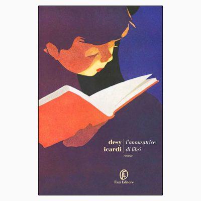 """La copertina de """"L'annusatrice di libri"""" di Desy Icardi (Fazi Editore)"""