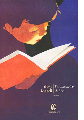 """La copertina de """"L'annusatrice di libri"""", libro scritto da Desy Icardi e pubblicato da Fazi Editore"""
