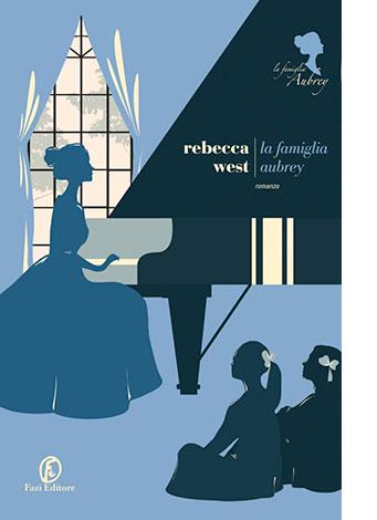 """La copertina de """"La famiglia Aubrey"""" di Rebecca West (Fazi Editore)"""