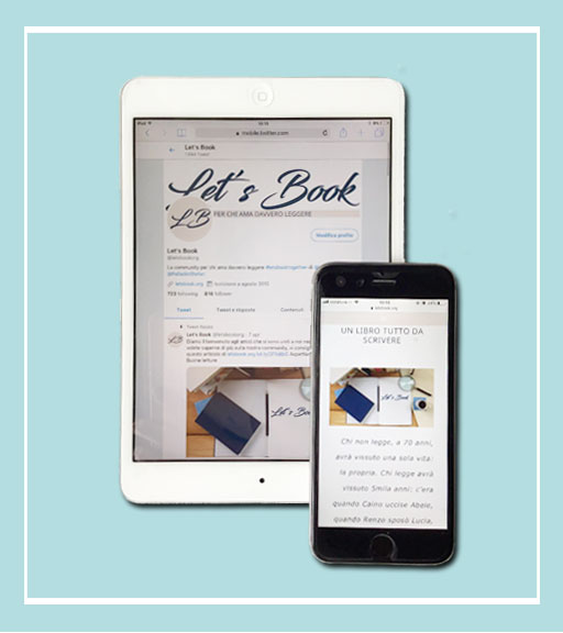 Guida alla Library di Let's Book con iPhone e iPad