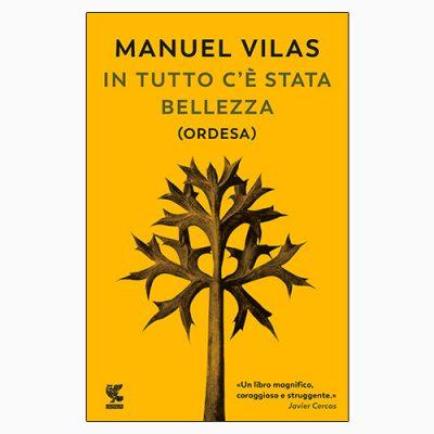 """La copertina di """"In tutto c'è stata bellezza"""", libro di Manuel Vilas pubblicato da Guanda"""