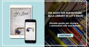 Guida con tre modi per partecipare alla library di Let's Book
