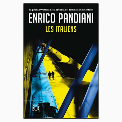 """La copertina de """"Les Italiens"""" di Enrico Pandiani, libro pubblicato da Rizzoli"""