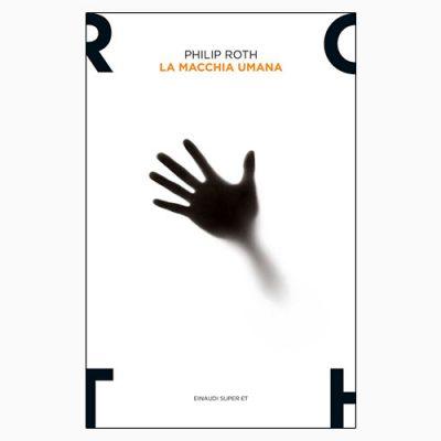 """La copertina de """"La macchia umana"""", libro scritto da Philip Roth e pubblicato da Einaudi"""