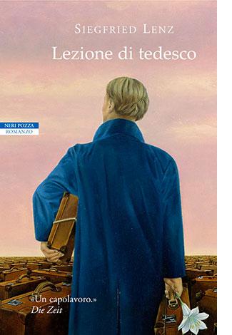 """La copertina di """"Lezione di tedesco"""", libro scritto da Siegfried Lenz e pubblicato da Neri Pozza"""