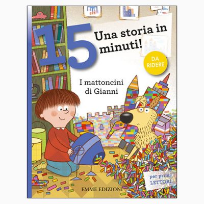 """La copertina di """"I mattoncini di Gianni"""" di Stefano Bordiglioni (Emme Edizioni)"""