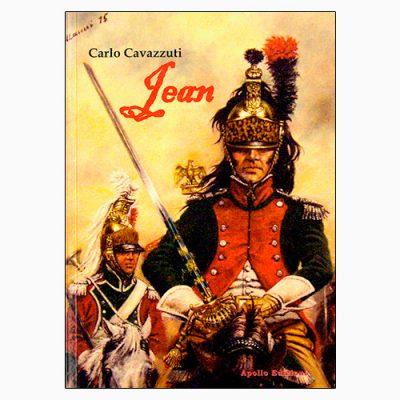 """La copertina di """"Jean"""", il libro di Carlo Cavazzuti pubblicato da Apollo Edizioni"""