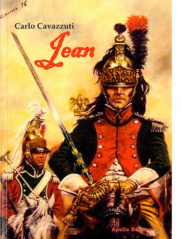 """La copertina di """"Jean"""" di Carlo Cavazzuti (Apollo Edizioni)"""