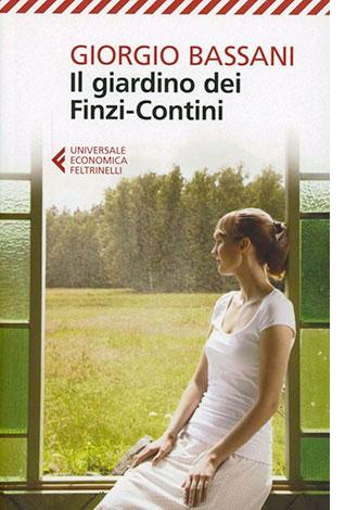 """La copertina de """"Il giardino dei Finzi-Contini"""", libro di Giorgio Bassani pubblicato da Feltrinelli"""