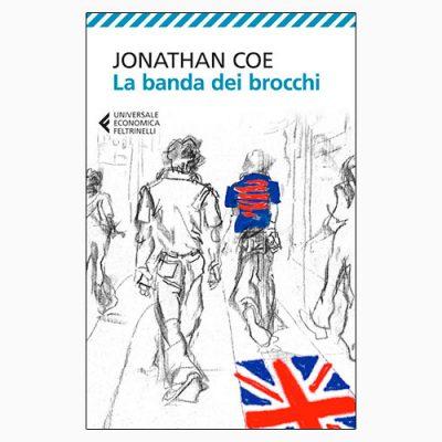 """La copertina de """"La banda dei brocchi"""", libro scritto da Jonathan Coe e pubblicato da Feltrinelli"""