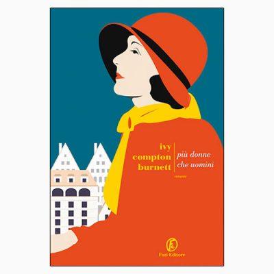 """La copertina di """"Più donne che uomini"""" di Ivy Compton Burnett (Fazi Editore)"""