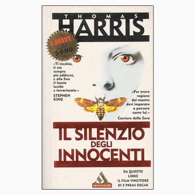 """La copertina del libro """"Il silenzio degli innocenti"""" di Thomas Harris (Mondadori)"""