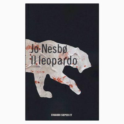 """La copertina de """"Il leopardo"""", libro scritto da Jo Nesbo e pubblicato da Einaudi"""