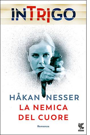 """La copertina del libro """"La nemica del cuore"""", scritto da Håkan Nesser e pubblicato da Guanda"""