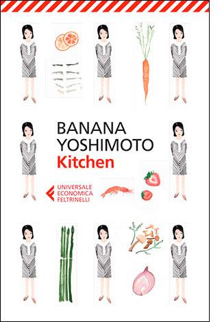 "La copertina di ""Kitchen"" di Banana Yoshimoto (Feltrinelli)"