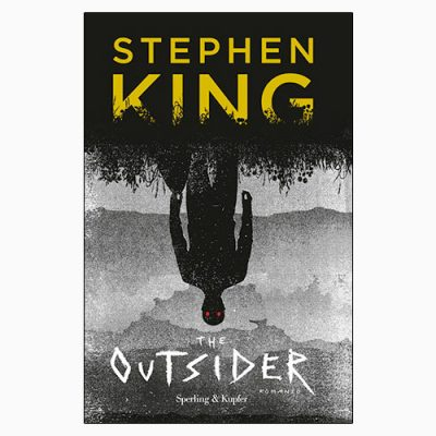 "La copertina del libro ""The Outsider"" di Stephen King (Sperling & Kupfer)"