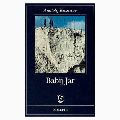 "La copertina del libro ""Babij Jar"" di Anatolij Kuznecov (Adelphi)"