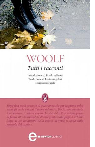 """La copertina dell'eBook """"Tutti i racconti"""" di Virginia Woolf (Newton Compton Editori)"""