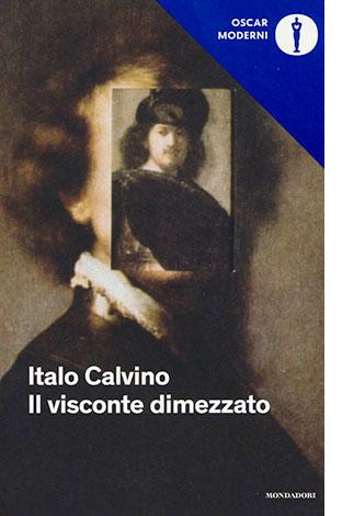 """La copertina del libro """"Il visconte dimezzato"""", scritto da Italo Calvino e pubblicato da Mondadori"""