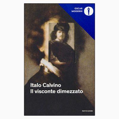 """La copertina del libro """"Il visconte dimezzato"""" di Italo Calvino (Mondadori)"""