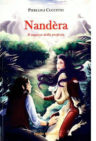"""La copertina di """"Nandèra"""", libro scritto da Pierluigi Cuccitto e pubblicato da Apollo Edizioni"""