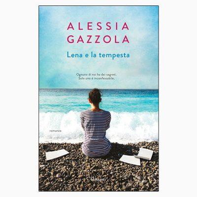 """La copertina del libro """"Lena e la tempesta"""" di Alessia Gazzola (Garzanti)"""