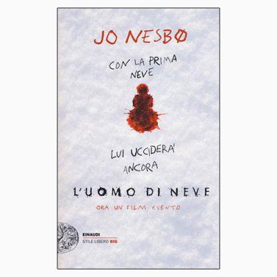 "La copertina de ""L'uomo di neve"" di Jo Nesbø (Einaudi)"