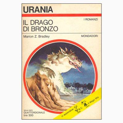 """La copertina del libro """"Il drago di bronzo"""", scritto da Marion Zimmer Bradley e pubblicato da Mondadori"""