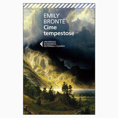 """La copertina del libro """"Cime tempestose"""" di Emily Brontë (Feltrinelli)"""