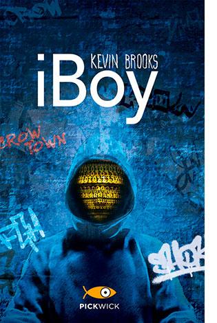 """La copertina del libro """"iBoy"""" di Kevin Brooks (Piemme)"""