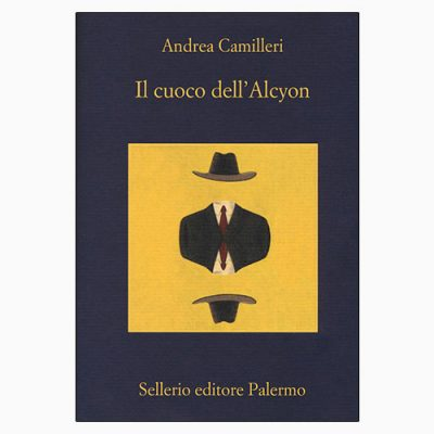 """La copertina del libro """"Il cuoco dell'Alcyon"""", scritto da Andrea Camilleri e pubblicato da Sellerio"""
