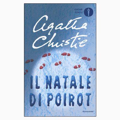 """La copertina del libro """"Il Natale di Poirot"""", scritto da Agatha Christie e pubblicato da Mondadori"""