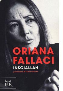 """La copertina del libro """"Insciallah"""" di Oriana Fallaci (Rizzoli)"""