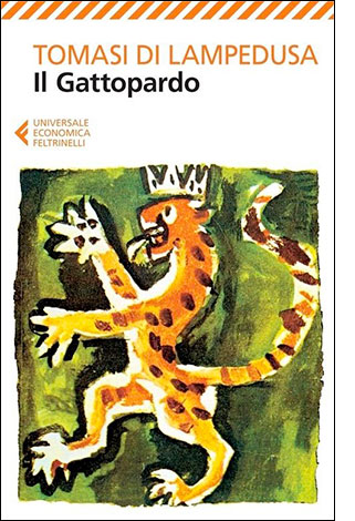 """La copertina del libro """"Il Gattopardo"""" di Giuseppe Tomasi di Lampedusa (Feltrinelli)"""